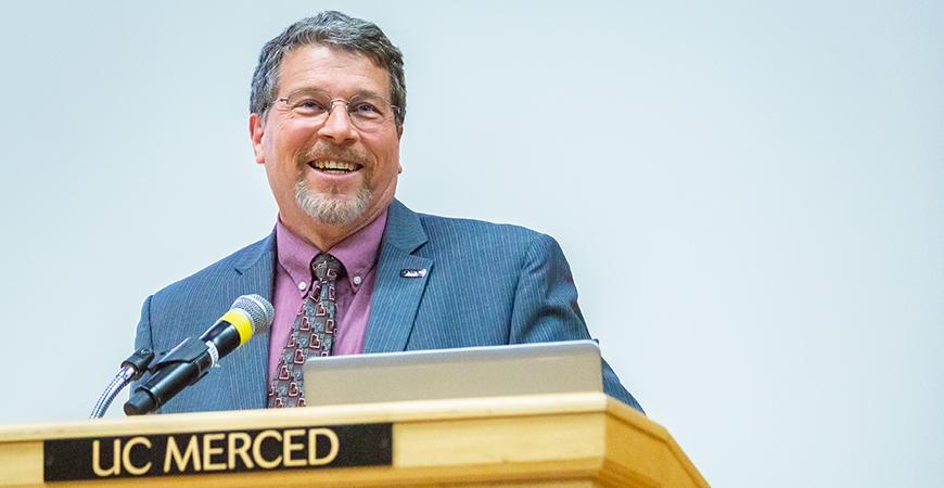 Provost Gregg Camfield